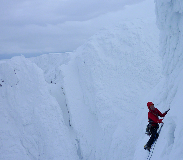 Guy Robertson on the final pitch of Redemption (Photo Guy Robertson Collection)